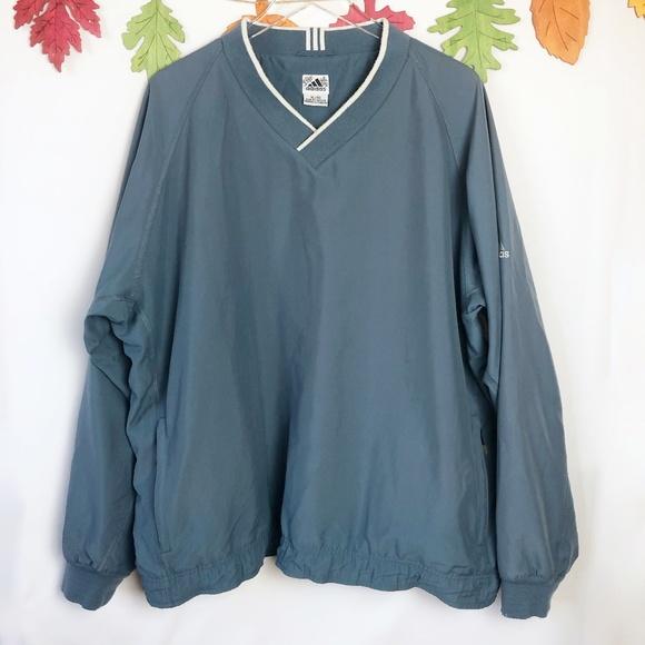 adidas Jackets & Blazers - Adidas  Vintage Climashell Pullover Windbreaker XL